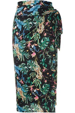 Lygia & Nanny Orixá mönstrad sarong