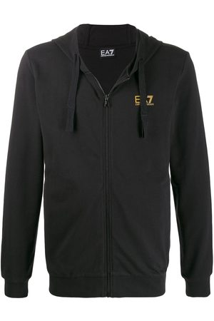 Ea7 Emporio Armani Man Hoodies - Huvtröja med logotyp