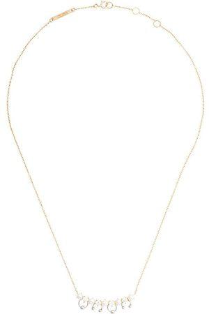DELFINA DELETTREZ Pärl- och diamanthalsband i 18K gult