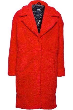 Svea Marble Jacket Outerwear Faux Fur