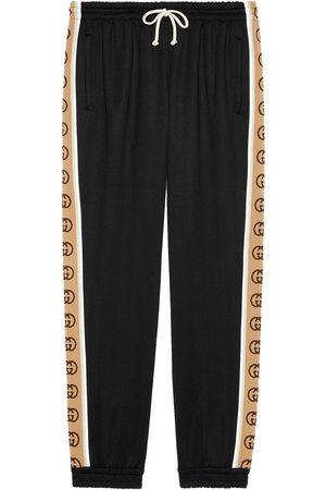 Gucci Pantalone da jogging ampio in jersey tecnico