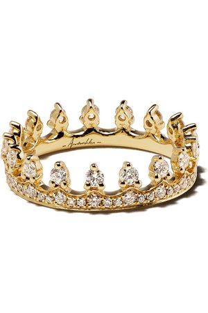 ANNOUSHKA Kvinna Ringar - Diamantring i 18K gult guld
