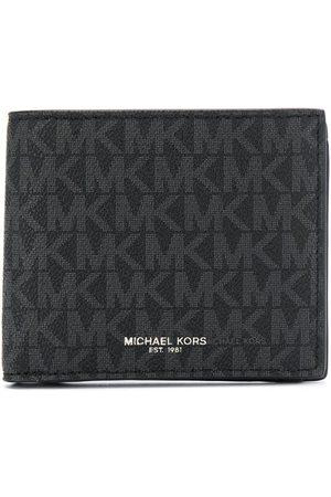 Michael Kors Plånbok med viklock och logotyp
