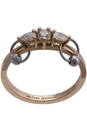 DELFINA DELETTREZ Kvinna Ringar - Diamantring i 18K gult