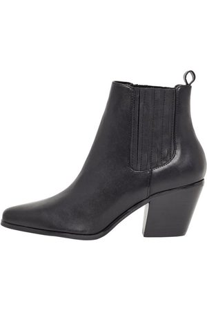 Bianco Ankle Boots Western style