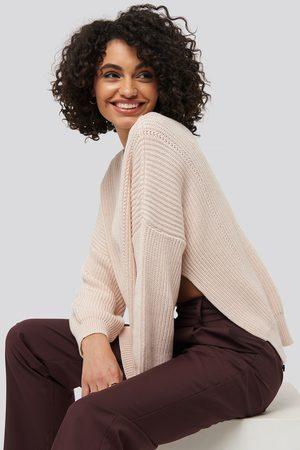 Trendyol Kvinna Tröjor - Bike Collar Slit Sweater