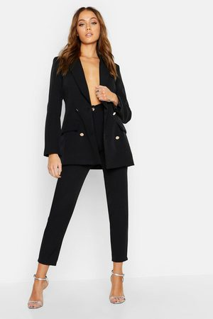 Boohoo Tailored Trouser, Black