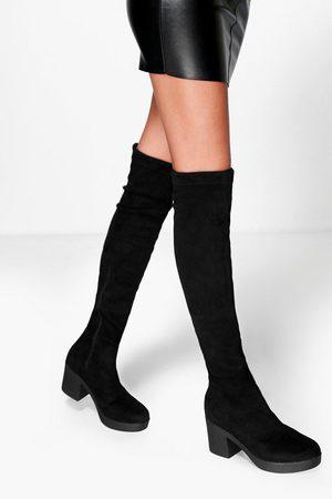 Köp Stövlar från Boohoo för Kvinna Online | FASHIOLA.se