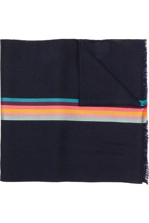 Paul Smith Man Sjalar - Artist Stripe fiskbensmönstrad sjal