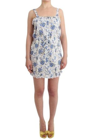 ERMANNO SCERVINO Beachwear Floral Beach Mini Dress Short