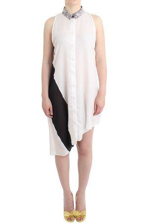 Costume National Shirt assymetric hem dress