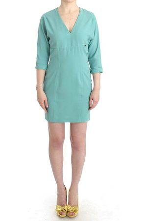 Costume National 3/4 sleeved sheath dress