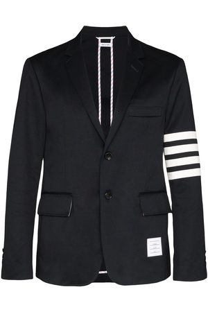 Thom Browne Man Kavajer - 4-Bar print single-breasted blazer