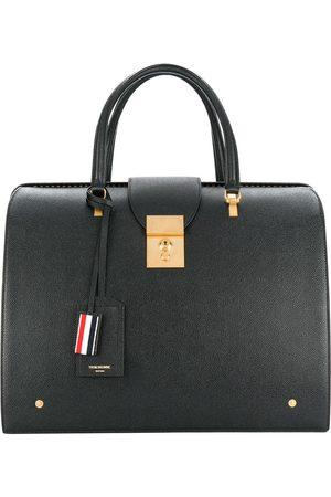 Thom Browne Man Väskor - Mr. Thom väska i kornigt läder