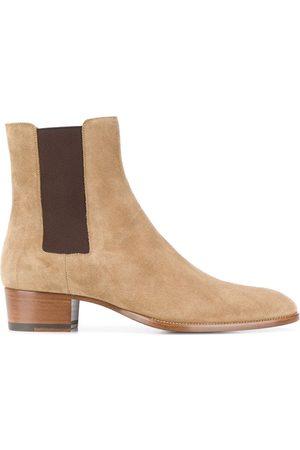 Saint Laurent Chelsea-boots i mocka