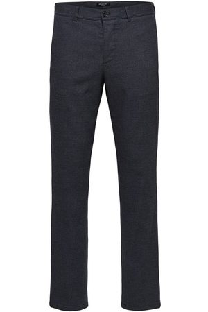 Selected Trousers Textured slim fit