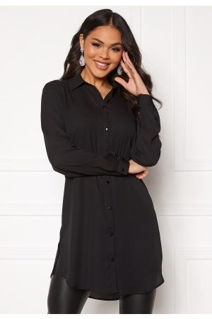Vila Lucy Button L/S Tunic Black 34