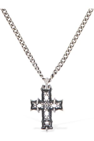 EMANUELE BICOCCHI Tiny Notre Dame Cross Necklace