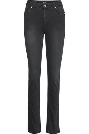 Denim Hunter Kvinna High waist - 33 The Celina High Straight Custom Raka Jeans