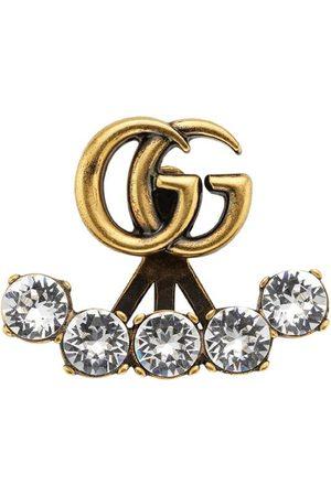 Gucci örhänge med logotyp