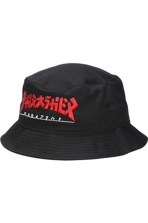 Thrasher Godzilla Bucket Hat black