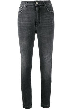 Dolce & Gabbana Kvinna Skinny - Skinny-jeans med slitning