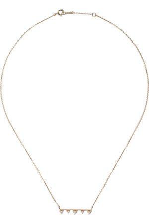 Mizuki 14kt diamond necklace