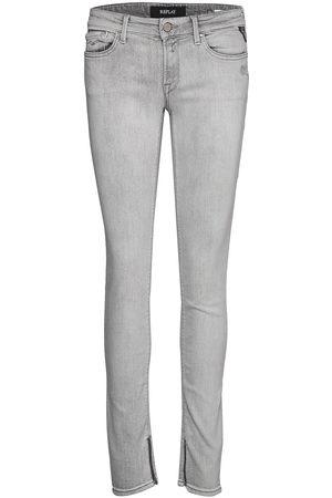 Replay Kvinna Skinny - Luz Ankle Zip Skinny Jeans
