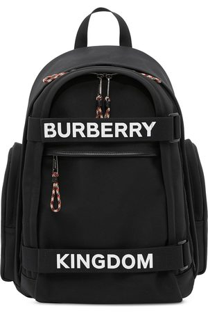 Burberry Nevis logo printed backpack