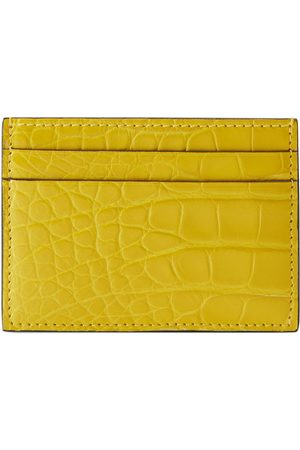 Gucci Man Plånböcker - Crocodile card case