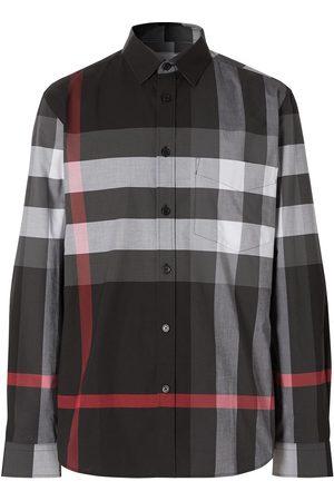 Burberry Rutig skjorta