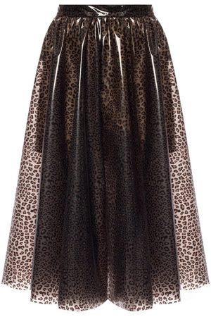 Msgm Leopard-printed skirt