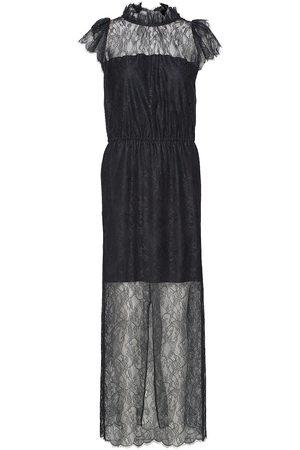 Designers Remix Long Ruffled Lace Dress Maxiklänning Festklänning