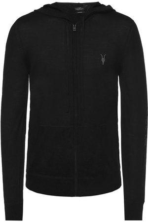 AllSaints Mode' logo-embroidered sweatshirt