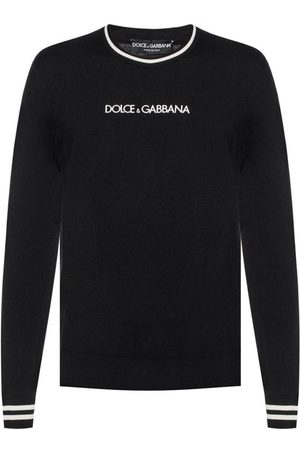 Dolce & Gabbana Logo-embroidered sweater