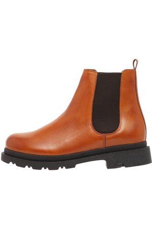Bianco Kvinna Chelsea - Leather Chelsea Boots Kvinna