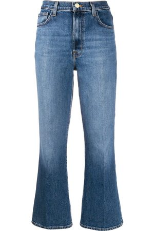 J Brand Julia high-rise kick-flare jeans