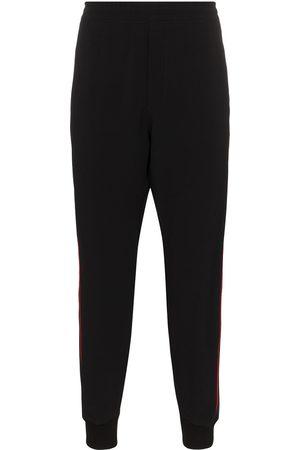 Alexander McQueen Logo stripe sweatpants