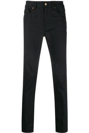 Saint Laurent Halvhöga skinny-jeans