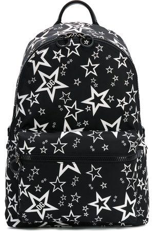 Dolce & Gabbana Stjärnmönstrad ryggsäck