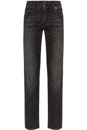 Dolce & Gabbana Jeans med logotypplakett