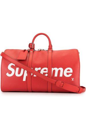 LOUIS VUITTON X Supreme Keepall Bandouliere 45 resväska