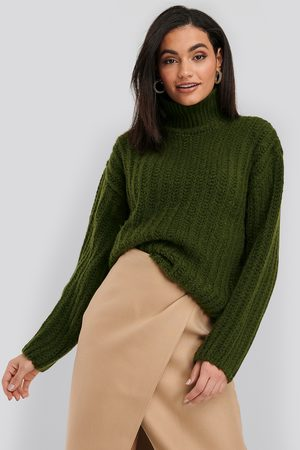NA-KD High Neck Heavy Knitted Sweater