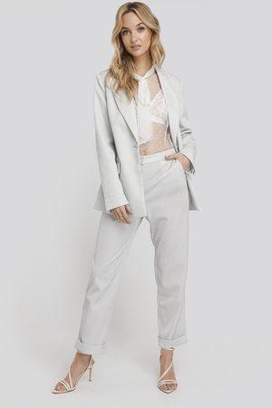 NA-KD Kvinna Byxor - Glittery Pants