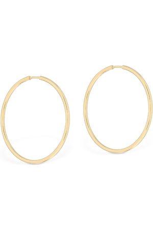 Maria Black Senorita 35 Hoop Earrings