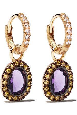 ANNOUSHKA Kvinna Örhängen - Diamantörhängen i 18K guld