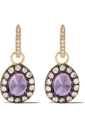 ANNOUSHKA Diamantörhängen i 18K guld