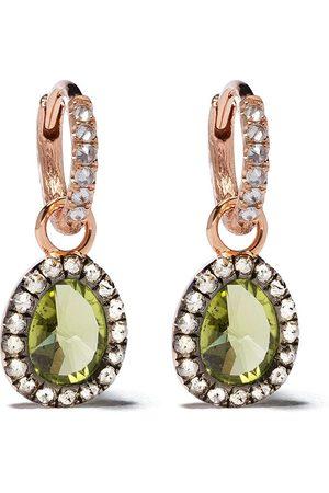 ANNOUSHKA Diamantörhängen i 18K roséguld