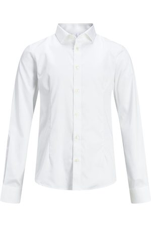 Jack & Jones Junior, Svängd Fåll - Skjorta Man White