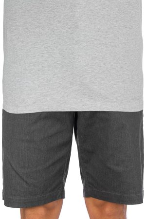 Volcom Frickin Modern Stretch Shorts charcoal heather